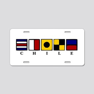 Nautical Chile Aluminum License Plate