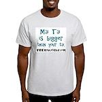 Mai Tai is bigger than Your T Ash Grey T-Shirt