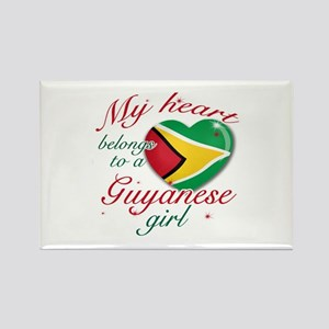 Guyanese Valentine's designs Rectangle Magnet