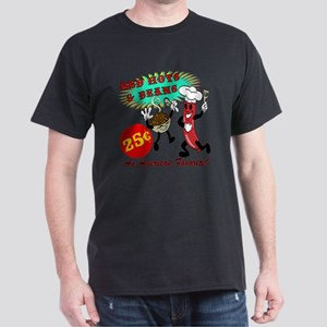 Red Hots and Beans Retro Diner Dark T-Shirt