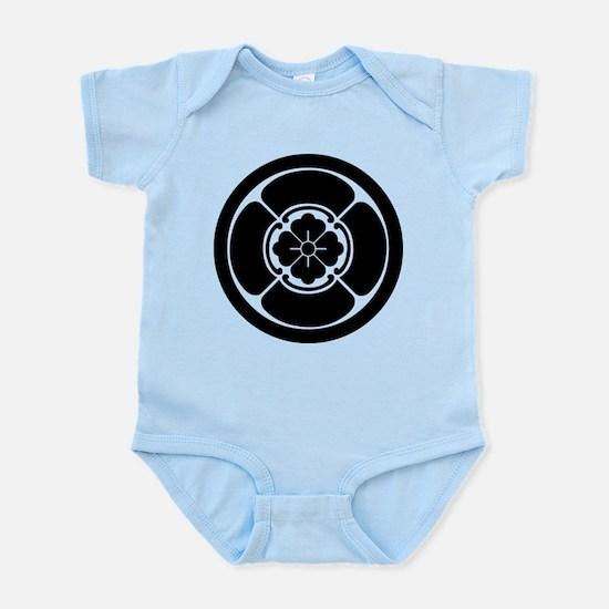 Square mokko in circle Infant Bodysuit