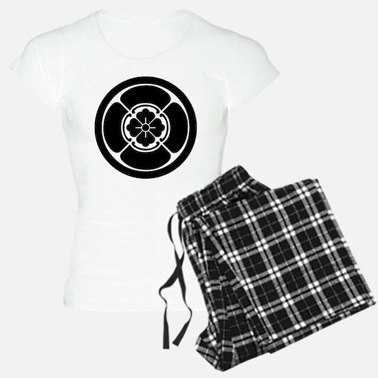 Square mokko in circle Pajamas