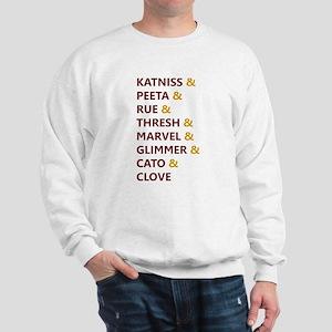 Katniss & Peeta & Rue Sweatshirt