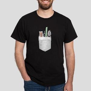Pocket Protector Black T-Shirt