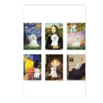 Maltese Famous Art (clr) Postcards (Package of 8)