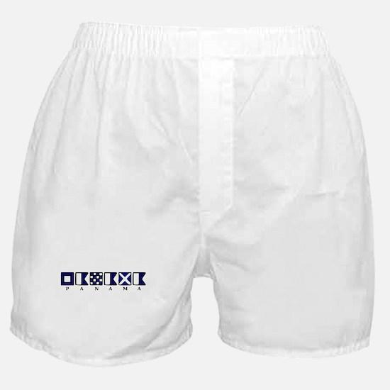 Nautical Panama Boxer Shorts