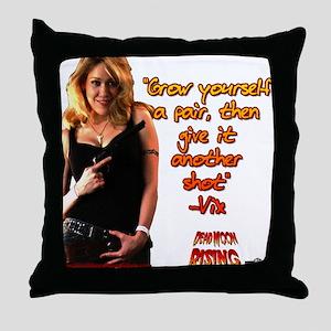 Grow Yourself a Pair  Throw Pillow