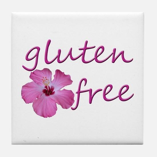 Gluten-Free Hibiscus Tile Coaster