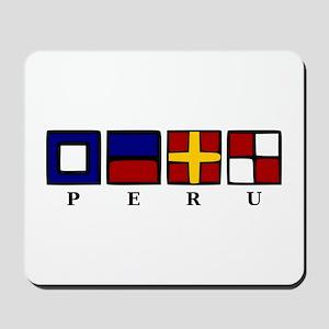 Nautical Peru Mousepad