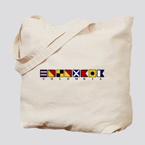 Nautical Colombia Tote Bag