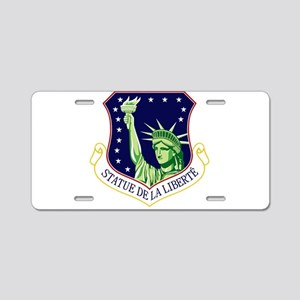 48th Fighter Wing Aluminum License Plate