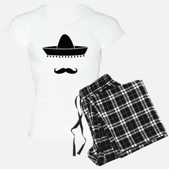Mexican moustache Pajamas