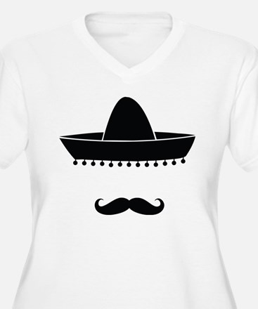 Mexican moustache T-Shirt