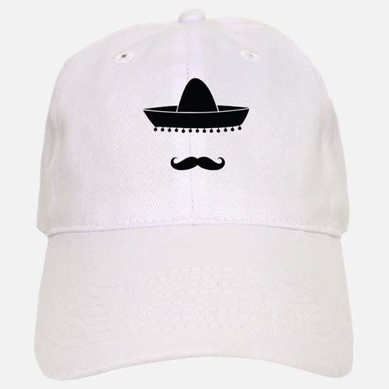 Mexican moustache Cap