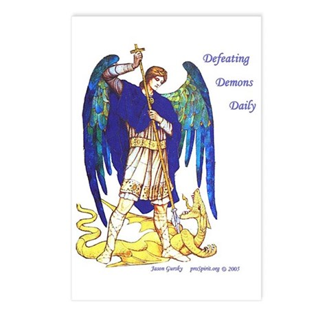 Archangel Michael - Postcards (Package of 8)