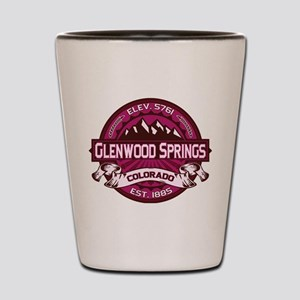 Glenwood Springs Raspberry Shot Glass