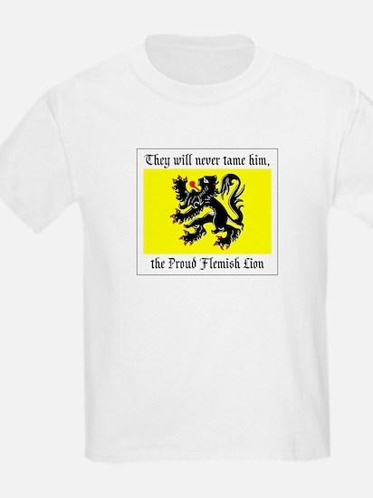 Proud Flemish Lion Kids T-Shirt