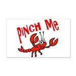 Pinch Me 22x14 Wall Peel