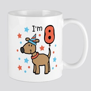 Birthday Dog 8 Mug