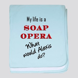 What Would Alexis Do? baby blanket