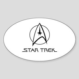 Star Trek Classic Sticker (Oval)