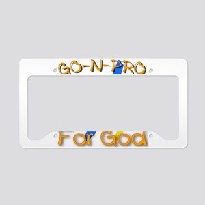 GO-N-PRO for God License Plate Holder