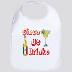 Cinco De Drinko Bib
