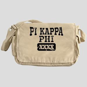 Pi Kappa Phi Athletic Personalized Messenger Bag