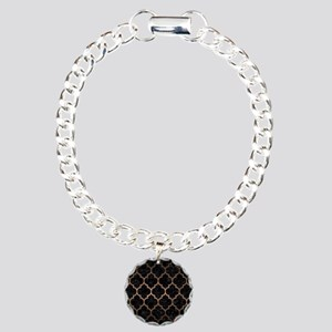 TILE1 BLACK MARBLE & BRO Charm Bracelet, One Charm