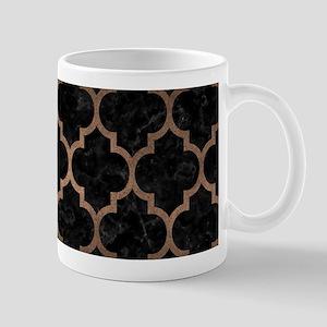 TILE1 BLACK MARBLE & BRONZE META 11 oz Ceramic Mug