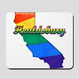 Healdsburg, California. Gay Pride Mousepad