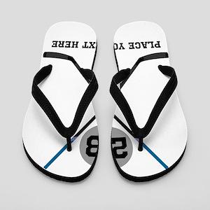Ice Hockey Personalized Flip Flops