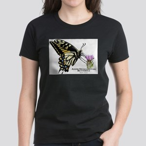 Anise Swallowtail Butterfly Women's Dark T-Shirt
