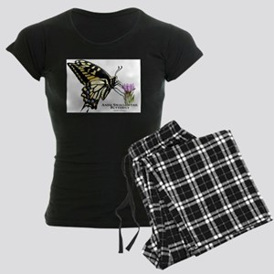 Anise Swallowtail Butterfly Women's Dark Pajamas