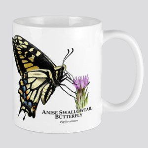 Anise Swallowtail Butterfly Mug