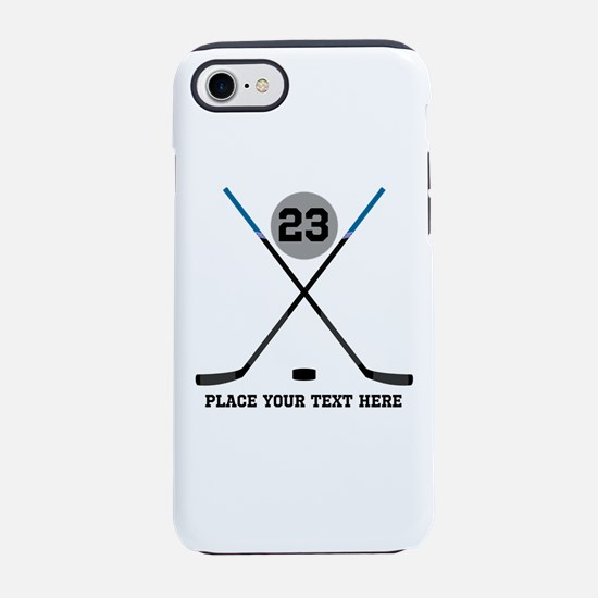 Ice Hockey Personalized iPhone 7 Tough Case
