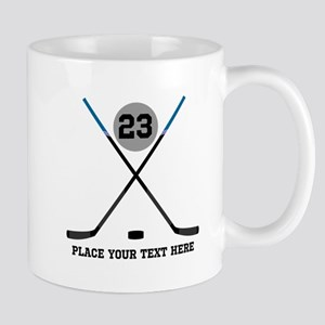 Ice Hockey Personalized 11 oz Ceramic Mug