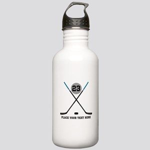 Ice Hockey Personalize Stainless Water Bottle 1.0L
