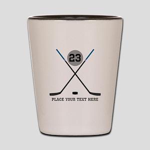 37ccb23e1d3e Kids Hockey Shot Glasses - CafePress