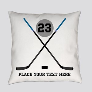 Ice Hockey Personalized Everyday Pillow