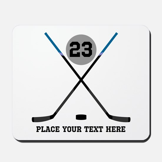 Ice Hockey Personalized Mousepad