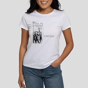 Guard is art T-Shirt