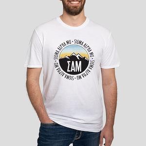 Sigma Alpha Mu Fitted T-Shirt