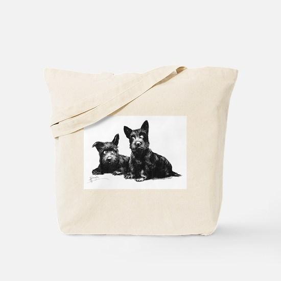 Scottie Dogs Tote Bag