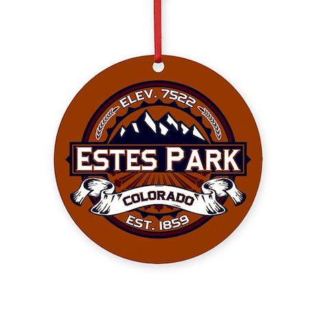 Estes Park Vibrant Ornament (Round)