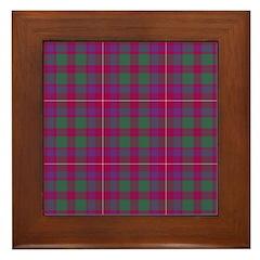 Tartan - Geddes Framed Tile