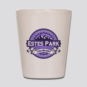 Estes Park Purple Shot Glass