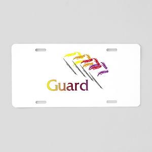 Color Guard Flags Aluminum License Plate