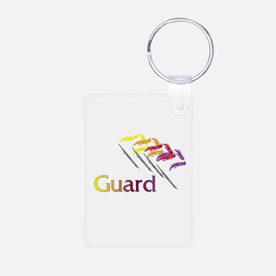 Color Guard Flags Keychains