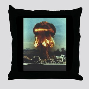 Grable Nuclear Test Throw Pillow